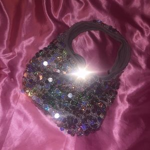 sparkly sequin party bag✨✨✨
